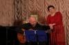 На концерте в Доме Романса в Москве с Инной Разумихиной