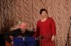 На концерте в Доме Романса в Москве с Инной Разумихиной.