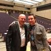 С моим другом Виталием Ленским перед моим авторским концертом в Администрации Президента РФ.