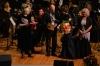 На творческом вечере М. Машкауцана в Администрации Президента РФ. Поздравления. Люся Голицина(слева)