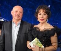 Авторский вечер М. Машкауцана в Кремле.(Дипзал)   Г.С.Преображенская и М. Машкауцан