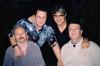 Мои друзья музыканты (слева - направо) я, Н.Кишиневский, З. Высокий и И. Беркович